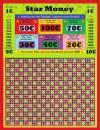Stechbrett - Knobelbrett - Star Money - 1200 Stiche - 1€